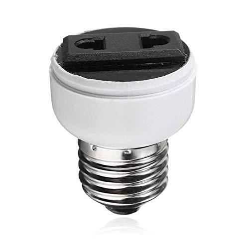 Edison Screw E27 to GU10 Socket Lamp Holder Adapter for LED Bulbs E27 to GU10 Socket Converter Heat //Flame// Shock Resistant Light Bulb Socket Adapter Pack of 4